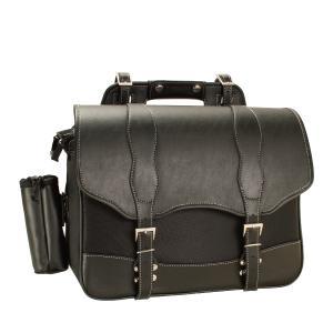 デグナー NB-100 ナイロンサドルバッグ ブラック