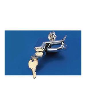 キジマ 303-151A ヘルメットロック 19.5 / 22.2mm パイプ対応 メッキ|papa-mart