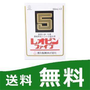 レオピン5 2本入り レオピンファイブ 湧永製薬 【第3類医薬品】|papamama