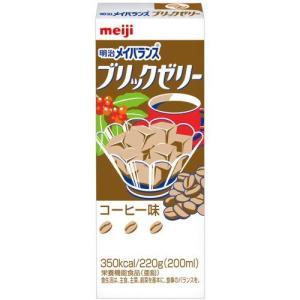 明治 メイバランス ブリックゼリー コーヒー味 200ml×24本入|papamama