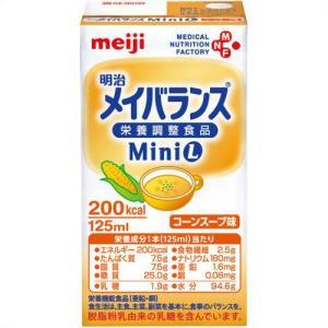 明治 メイバランス ミニL コーンスープ味 125ml×24本|papamama