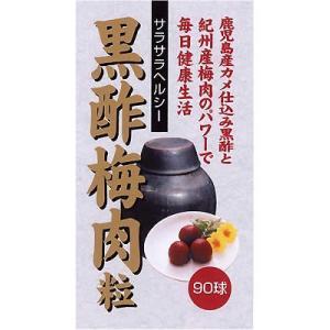 ユウキ製薬 黒酢梅肉粒 90球|papamama
