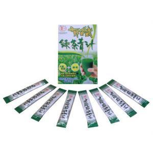 有機 緑茶青汁 3g*8包 papamama