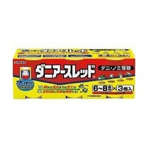 ダニアースレッド 6~8畳用 10g×3 ×5  【第2類医薬品】