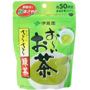 おーいお茶 抹茶入りさらさら緑茶 40g papamama