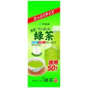 伊藤園 抹茶入り ワンポット緑茶 ティーバッグ 50袋 papamama
