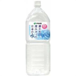 【ケース販売】伊藤園 磨かれて、澄みきった日本の水 2L×6本 papamama