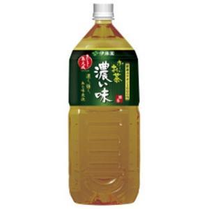 【ケース販売】おーいお茶 緑茶 濃い味 2L×6本 papamama