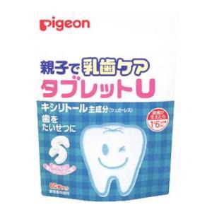 ピジョン 親子で乳歯ケア タブレットU ほんのりいちご味 60粒 1歳6ヶ月頃から|papamama