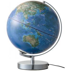 地球儀 『衛星画像地球儀』 宇宙から見た地球を体感できる地球儀 レイメイ藤井