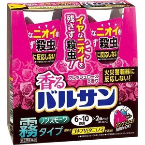 香るバルサンフレッシュローズの香り6~10畳用 46.5g×2  【第2類医薬品】