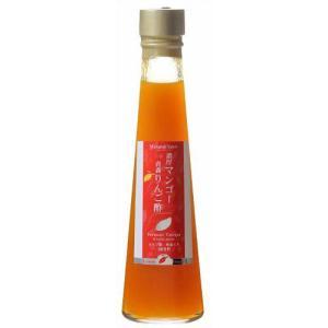 九州酢造 濃厚マンゴー&青森りんご酢(オリゴ糖・蜂蜜入り) 200ml|papamama
