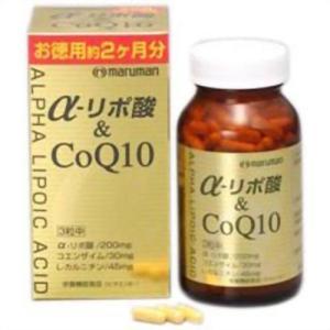 マルマン α‐リポ酸&CoQ10 180粒|papamama