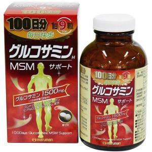 マルマン グルコサミン MSMサポート 900粒|papamama