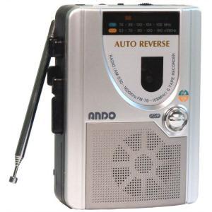 アンドー ラジオ付テープレコーダー RC7-620の画像
