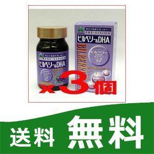 ビルベリー&DHA 3個セット 湧永製薬 プレビジョン|papamama