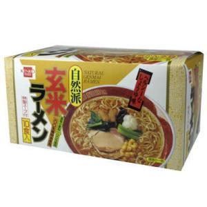 健康フーズ 玄米ラーメン 87gx10袋...