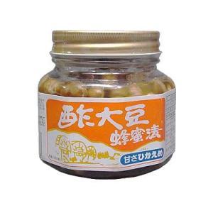 酢大豆蜂蜜漬 350g|papamama