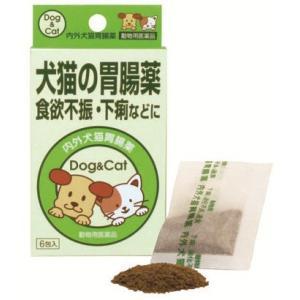 ナイガイ 内外犬猫胃腸薬 6袋入 (動物用医薬品)|papamama