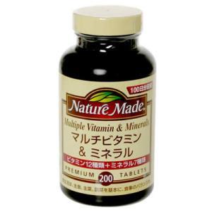 ネイチャーメイド マルチビタミン&ミネラル ファミリーサイズ 200粒|papamama