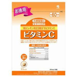 小林製薬の栄養補助食品 ビタミンC 徳用 180粒|papamama