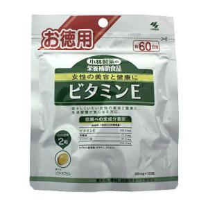 小林製薬の栄養補助食品 ビタミンE 徳用 120粒 papamama