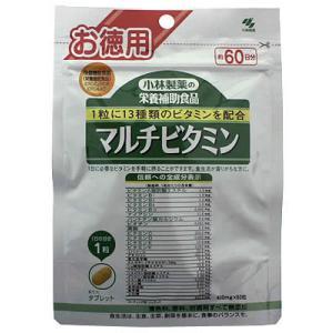 小林製薬の栄養補助食品 マルチビタミン 徳用 60粒 papamama