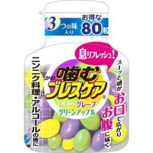 噛むブレスケア ボトルアソート 80粒|papamama