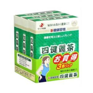 四健麗茶 14袋*3箱|papamama
