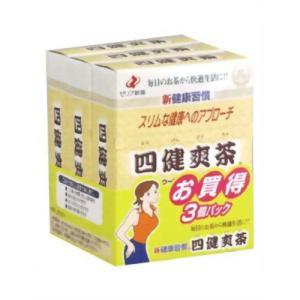 四健爽茶 14袋*3箱|papamama