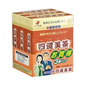 四健美茶 14包*3箱|papamama