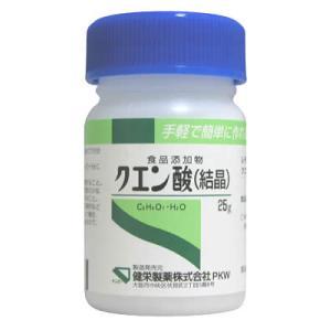 クエン酸 25g|papamama