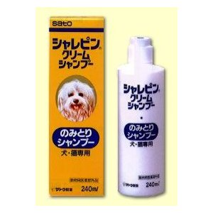 シャレピンクリームシャンプー(動物用医薬部外品)|papamama