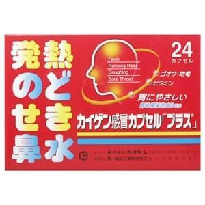 カイゲン感冒カプセル「プラス」 36カプセル メール便 【指定第2類医薬品】  メール便 tk10|papamama