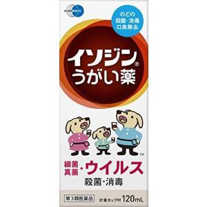 イソジンうがい薬 120mL 定形外郵便 【第3類医薬品】 ...