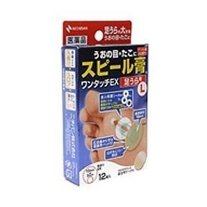 スピール膏 ワンタッチEX SPAL 12枚 ×2 メール便 第2類医薬品
