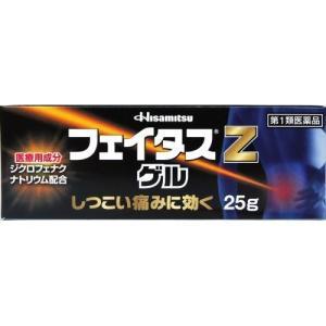 フェイタスZゲル 25g 定形外郵便 【第2類医薬品】
