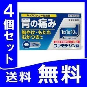 ファモチジン錠 クニヒロ 4個セット 定形外郵便 ガスター10と同じ成分【第1類医薬品】薬剤師対応 【税制対象商品】 tk10|papamama