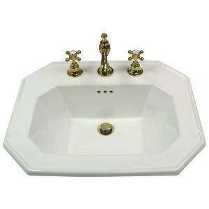 洗面ボウル St.ThomasCreations リッチモンド 8インチ水栓用スクエア洗面器|papasalada