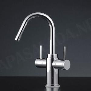 混合栓 デザイン蛇口 Arona Lavatory NS.Mix / New2レバー混合水栓 デザイナーズ洗面所蛇口|papasalada