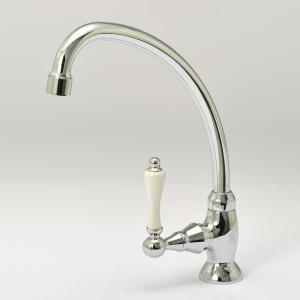 1PLVS JODEN単水栓 手洗用蛇口 レバーフォーセットCL(クロム) レトロクラシック調 ジョーデン水栓金具|papasalada