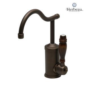 Herbeau/エルボ4105 Flamande(フラマンド/オールドブラス)シングルレバー混合栓 おしゃれ 蛇口 キッチン 洗面所 papasalada