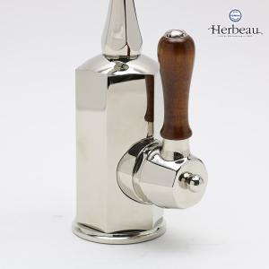 Herbeau/エルボ4130 Monarque(モナーク/ブライトニッケル)シングルレバー混合栓 おしゃれ 蛇口 キッチン|papasalada|04