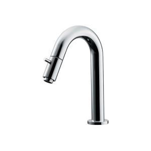 単水栓 手洗用 おしゃれ蛇口 チップハンドル立水栓 トイレ用立水栓/単水栓|papasalada