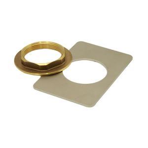 32mm規格日本製排水金具用カウンター固定フランジセット メール便対応可|papasalada