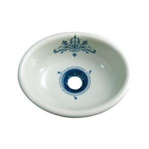 E217260 小型 おしゃれ 洗面ボウル 手洗器 Essence コレクティブルズ Sオーバル エッセンス イブキクラフト|papasalada