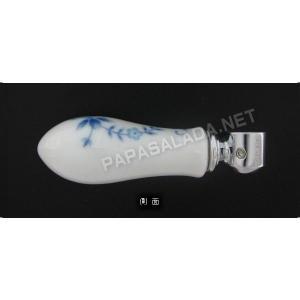 E231100 蛇口 ハンドル 水栓パーツ Essence PIVOT オールドイングランド Old England(Blue・クロム) エッセンス イブキクラフト|papasalada|03
