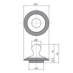E231230 Essence 洗面ボール用排水口飾り栓 オールドイングランド|papasalada|03