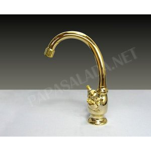 蛇口 2ハンドル 混合栓 混合水栓 エッセンス リズ ブラス papasalada 03