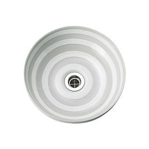 E291010 小型 おしゃれ 洗面ボウル 手洗器 Essence ノルディカ「オビ」手洗鉢 エッセンス イブキクラフト|papasalada